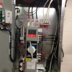Automatic transfer switch inside