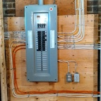 Cabage town house rewire with 200 amp upgrade
