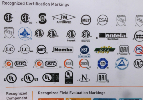 Canadian certifications